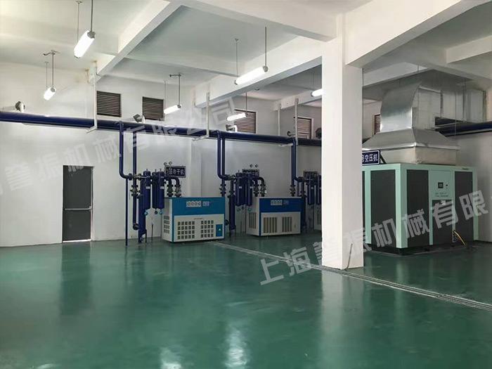 汉钟空压机应用于电子行业