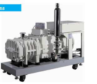 PD系列变螺距螺杆真空泵