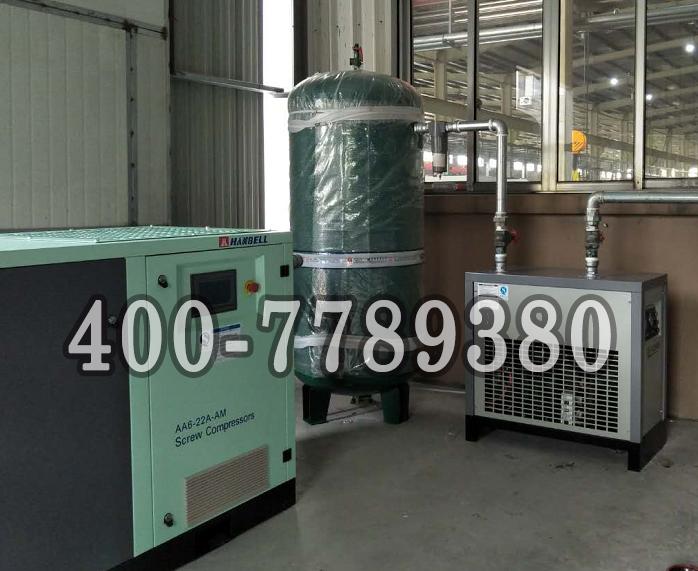 汉钟变频螺杆空压机服务于某大型生产企业